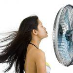 klimatyzacja biura kobieta